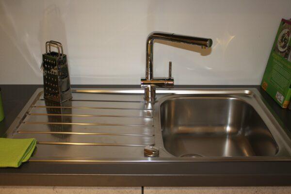 """Küchenblock """"B178209E1112"""" - Spülbecken mit Aqua Cucina Armatur"""
