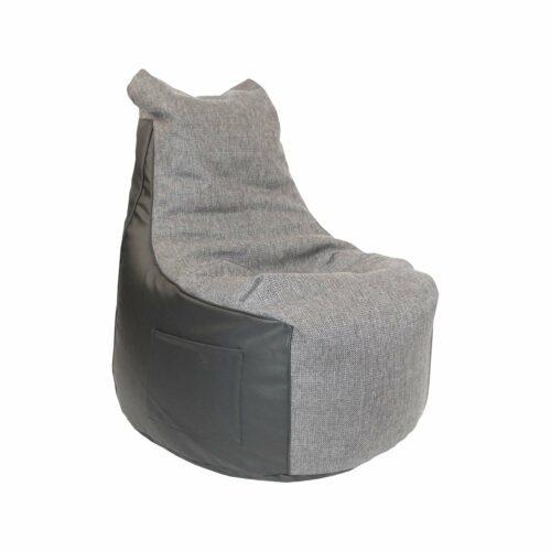 """Trendstore """"Levon"""" Sitzsack, Kunstleder schwarz, Breite 65 cm"""