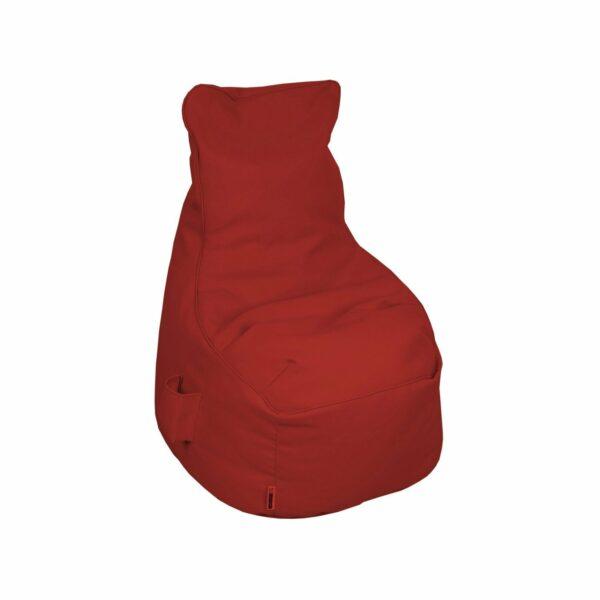 "Trendstore ""Linja"" Sitzsack, Nylon rot, Breite 60 cm"