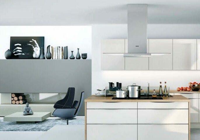 Die Wohnküche: Gemütlich und perfekt integriert
