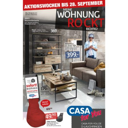 CASA for You: Richtig sparen in den Aktionswochen