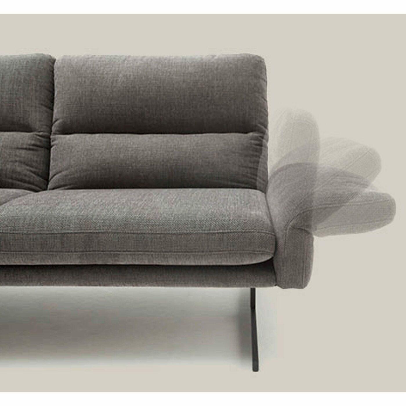 """Comfort Republic """"Alexander"""" Sofa mit verstellbaren Armlehnen"""