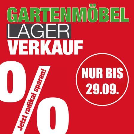 Gartenmöbel Lagerverkauf in Stockach - nur bis 29. September