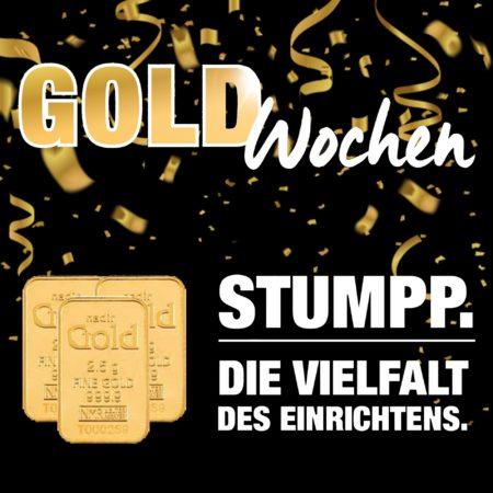 Gold-Wochen im Wohparc Stumpp: 11 % Rabatt auf alles