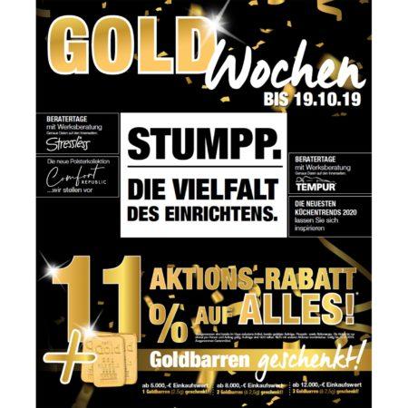 Gold Wochen – Wohnparc Stumpp
