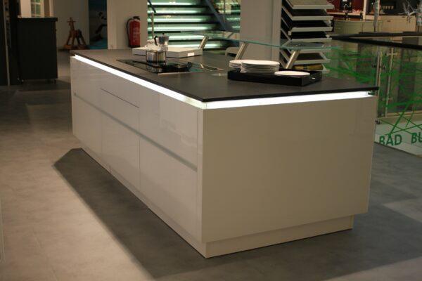 """Küchenblock """"BL501521"""" - Arbeitsplatte mit Kochfeld"""