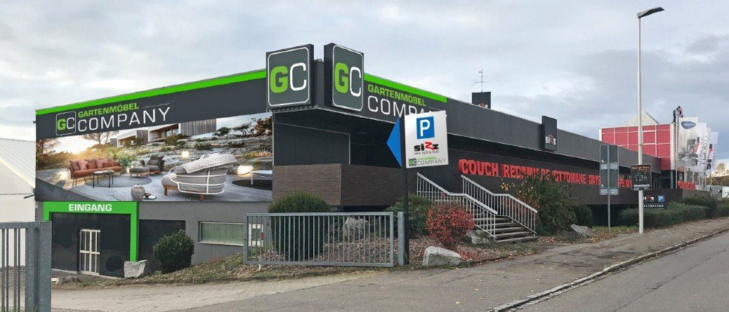 Fassade Gartenmöbel Company Weil am Rhein