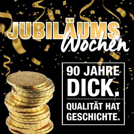 Jubiläums-Wochen bei Wohnparc DICK: 11 Prozent Rabatt auf alles!