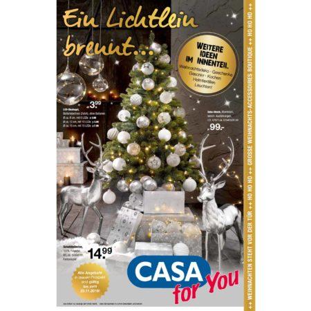 Ein Lichtlein brennt bei CASA for You