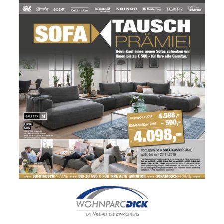 Sofa Tausch-Prämie bei Möbel DICK