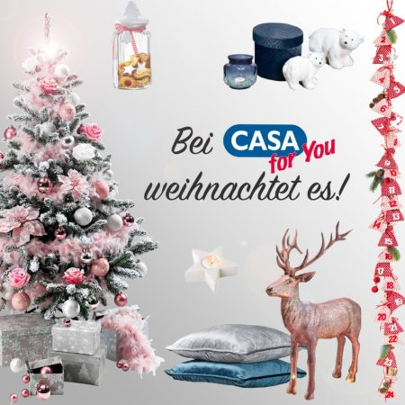 Bei CASA for You weihnachtet es