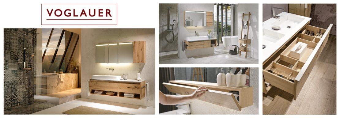 Design mit Charme - Badezimmermöbel von Voglauer