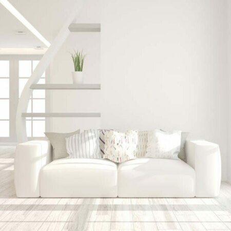 Farbkonzepte: Wohnräume mit Weiß gestalten