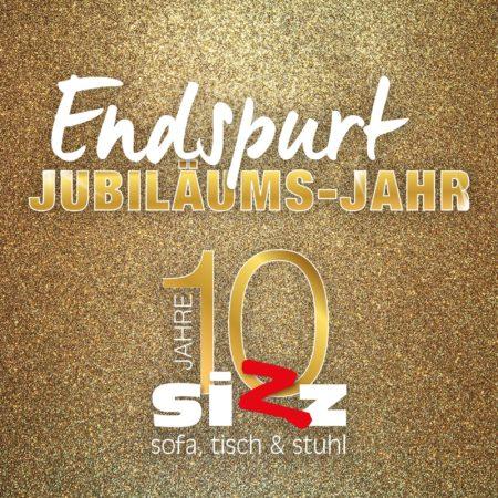 Jubiläums-Sofort-Bonus bei SIZZ