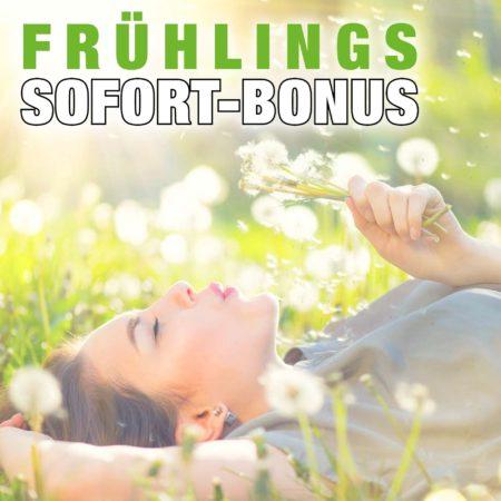 Frühlings-Bonus bei SIZZ
