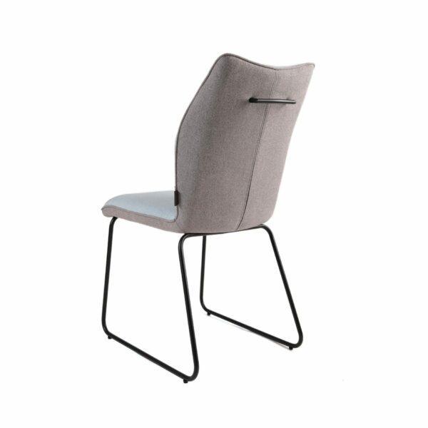 Trendstore Stuhl Mae mit grauer Rückseite