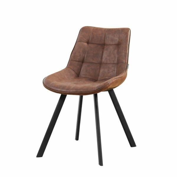 Trendstore Stuhl Morle mit Bezug aus Kunstleder