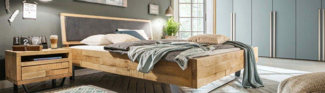 Schlafzimmer im Timber-Look: Traumhaftes Massivholz