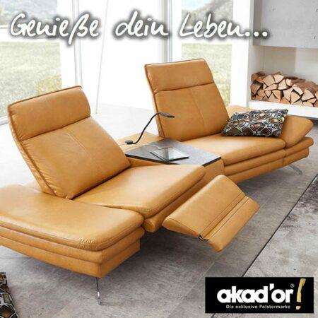 Erleben Sie die exklusiven Polstermöbel von Akad'or
