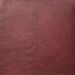 Lederbezug E-Soft in der Farbe Kirsch