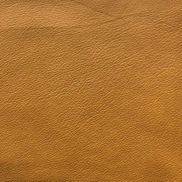 Lederbezug Longlife E touch in der Farbe Kurkuma