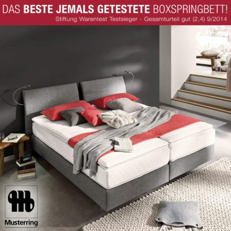 Der Boxspringbett-Testsieger: Musterring Evolution Select: