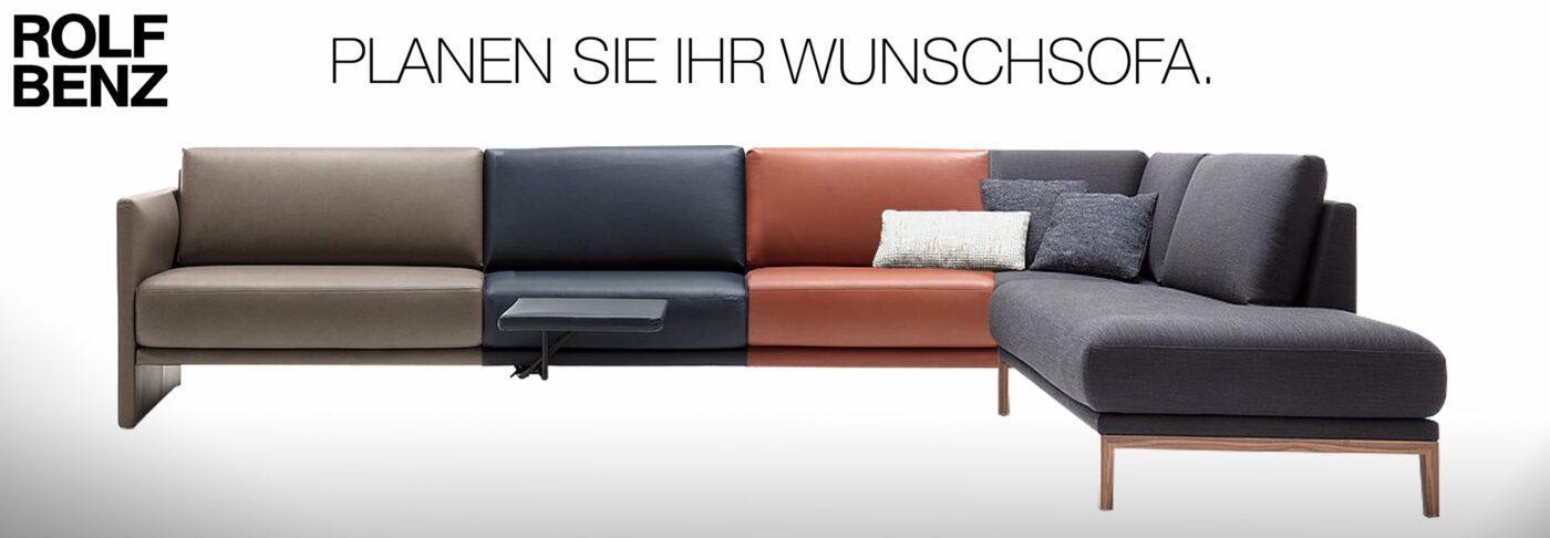 Rolf Benz CARA - Das Sofa mit Charakter