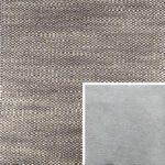 Akador Venezuela Elementgruppe - Sofabezug aus Textilgewebe Longlife Magic lachs, Kissen aus Leder Longlife E touch stone