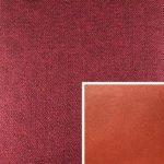 Akador Colombia Elementgruppe - Sofabezug aus Textilgewebe Q2 Natura bombay, Kissen aus Leder Longlife E soft terra
