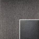 Akador Colombia Elementgruppe - Sofabezug aus Textilgewebe Q2 Natura night, Kissen aus Leder Longlife E soft brombeere