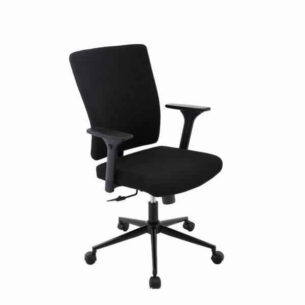 Trendstore Qbiz Bürostuhl mit niedriger Rückenlehne und Hartbodenrollen