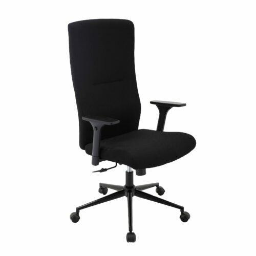 Trendstore Qbiz Bürostuhl mit hoher Rückenlehne und Hartbodenrollen