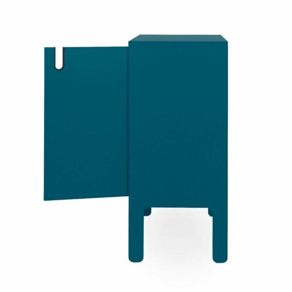 Trendstore Uno Kommode 2-türig - Seitenansicht offene Türen