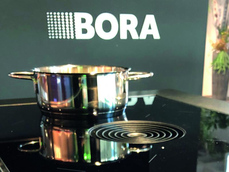 Bora Classic 2.0 in der Ausstellung