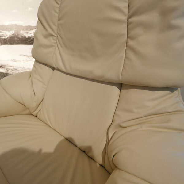 Stressless Reno Classic Sessel - Detail Lederbezug