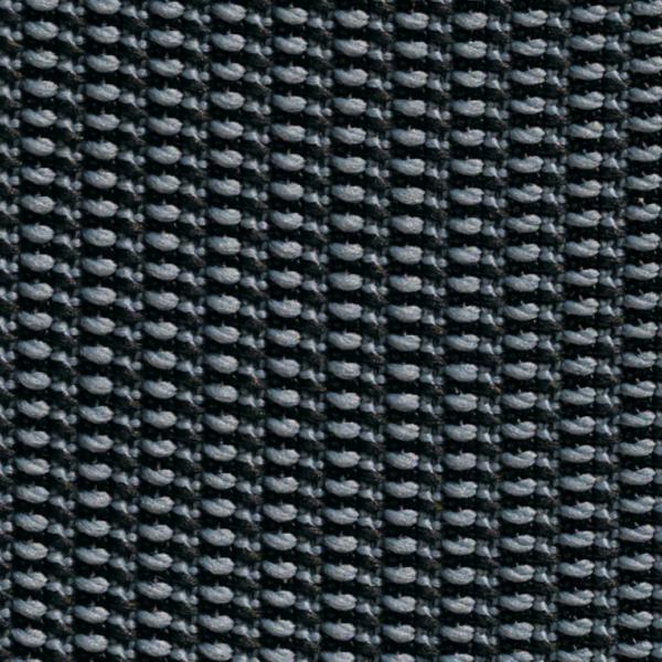 Team 7 Magnum Freischwinger mit Bezug aus Stricktex in anthrazit