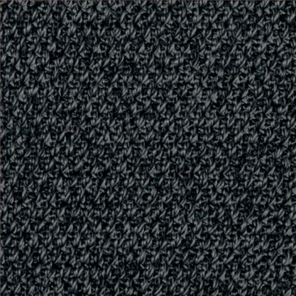 Team 7 Magnum Freischwinger mit Bezug aus Stricktex in dunkelgrau