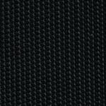 Team 7 Magnum Freischwinger mit Bezug aus Stricktex in schwarz