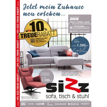 10 % Treue-Rabatt bei SIZZ