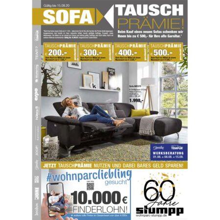 Sofa-Tausch Prämie bei Stumpp Wohnen