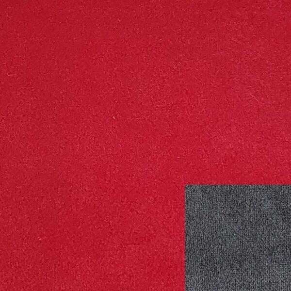 Bezug 312/1 rot mit Keder 312/77 dunkelgrau