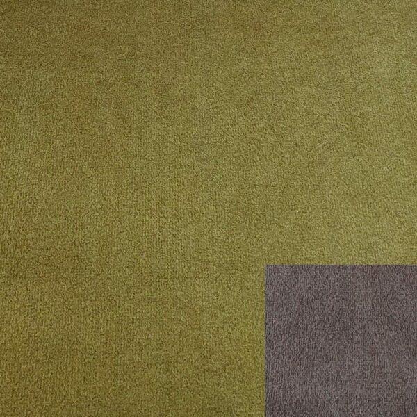 Bezug 312/22 grün mit Keder 312/98 braun