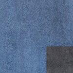 Bezug 312/3 dunkelblau mit Keder 312/77 dunkelgrau