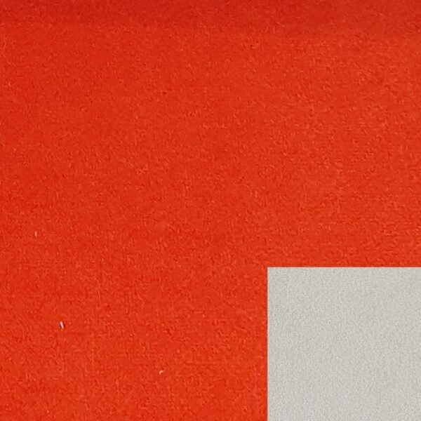 Bezug 312/49 orange mit Keder 312/55 natur