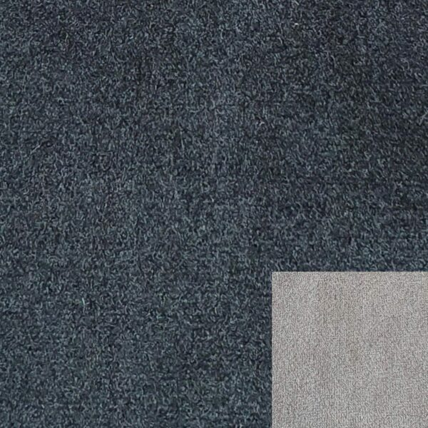 Bezug 312/6 schwarz mit Keder 312/7 grau