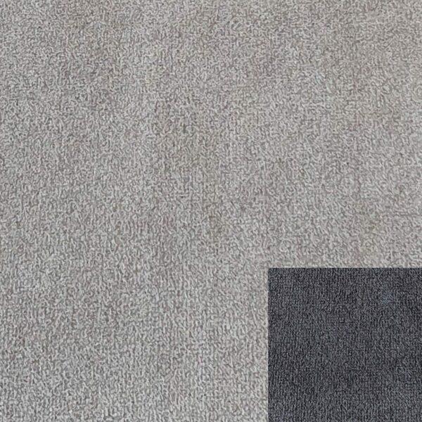 Bezug 312/7 grau mit Keder 312/77 dunkelgrau