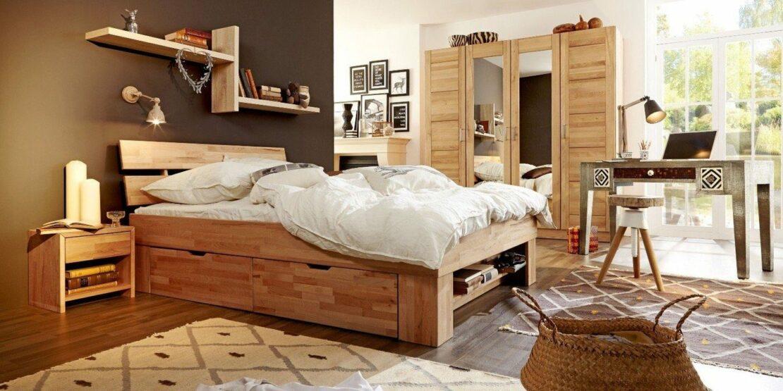 Beispiel für ein Futonbett im westlichen Stil
