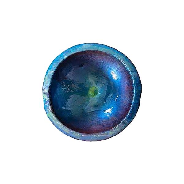 Trendstore Gespa Schale blau von innen