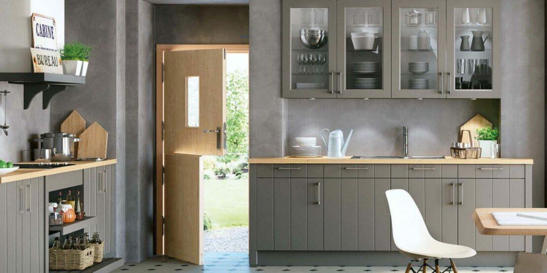 Modernes Küchendesign mit klassischen Anklängen