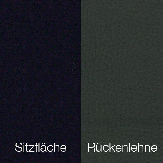 Textilgewebe Future Zwart (30 % Wolle, 70 % Polyamid) & Leder Tendens Graniet
